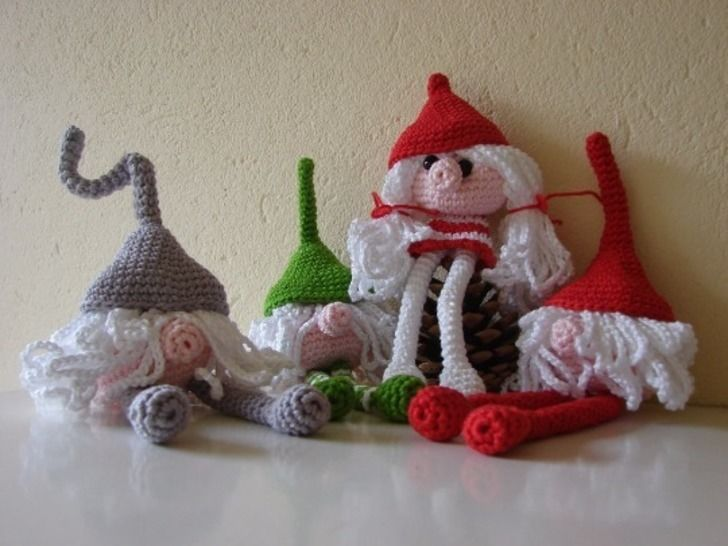 Amigurumi Gnome - crochet pattern at Makerist - Image 1