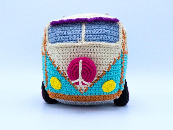 Häkelanleitung: Hippie Bus bei Makerist - Bild 1