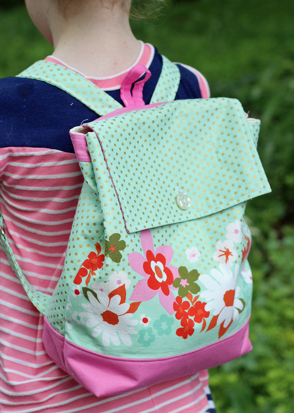 Backpack Sewing Pattern in Adult and Child Size