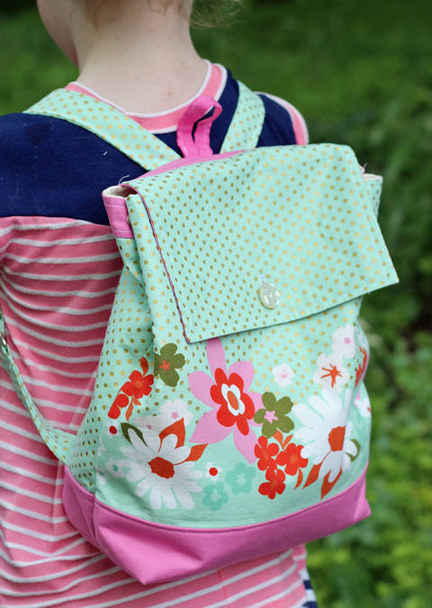 Backpack Sewing Pattern in Adult and Child Size at Makerist