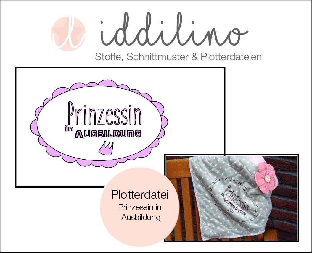 Prinzessin in Ausbildung - Plotterdatei