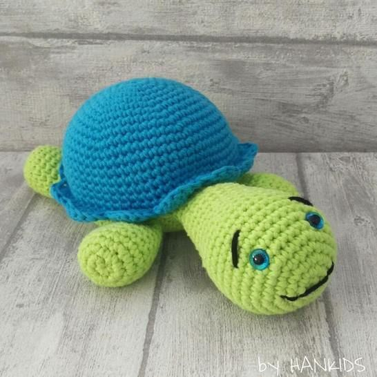 Crochet Pattern Turtle at Makerist - Image 1
