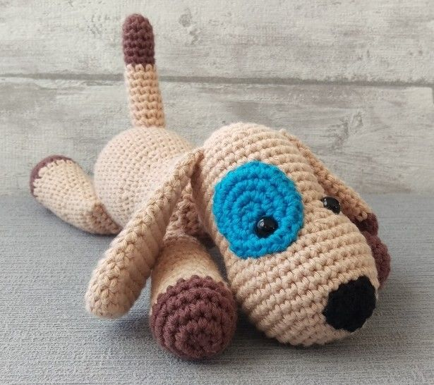 Crochet Pattern Doggy at Makerist - Image 1