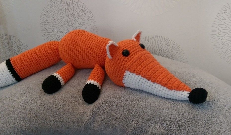 Crochet Pattern Fox at Makerist - Image 1