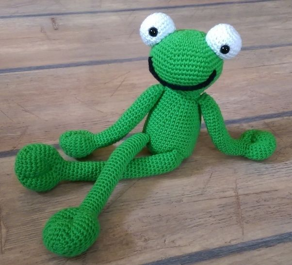Crochet Pattern Froggy at Makerist - Image 1