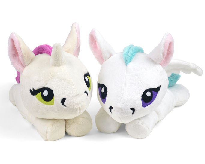 Unicorn Pegasus Kelpie Merpony Hippocampus Plush Toy Sewing Pattern at Makerist - Image 1