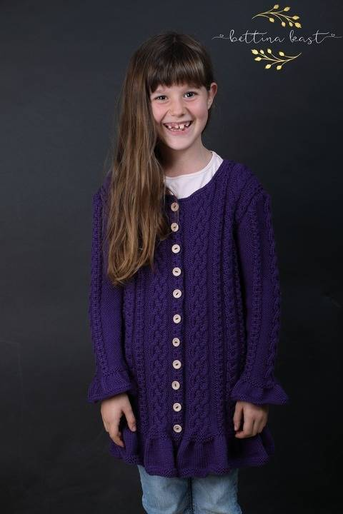 Anael - Romantic Cable Cardigan - updated version
