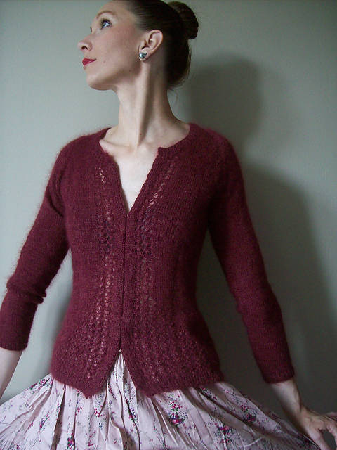 Esprit Glamour Cardigan's Jumper - Knitting (en) bei Makerist