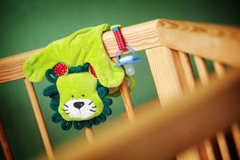 "Pacifier-holder ""Paddy Paw"" – tutorial with pattern"