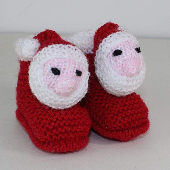 Toddler Santa Head Christmas Slippers at Makerist - Image 1