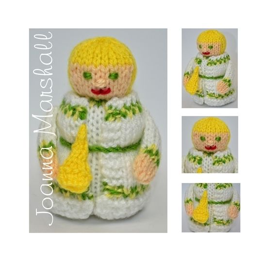 Scrooge - Ghost of Christmas Past Doll  at Makerist - Image 1