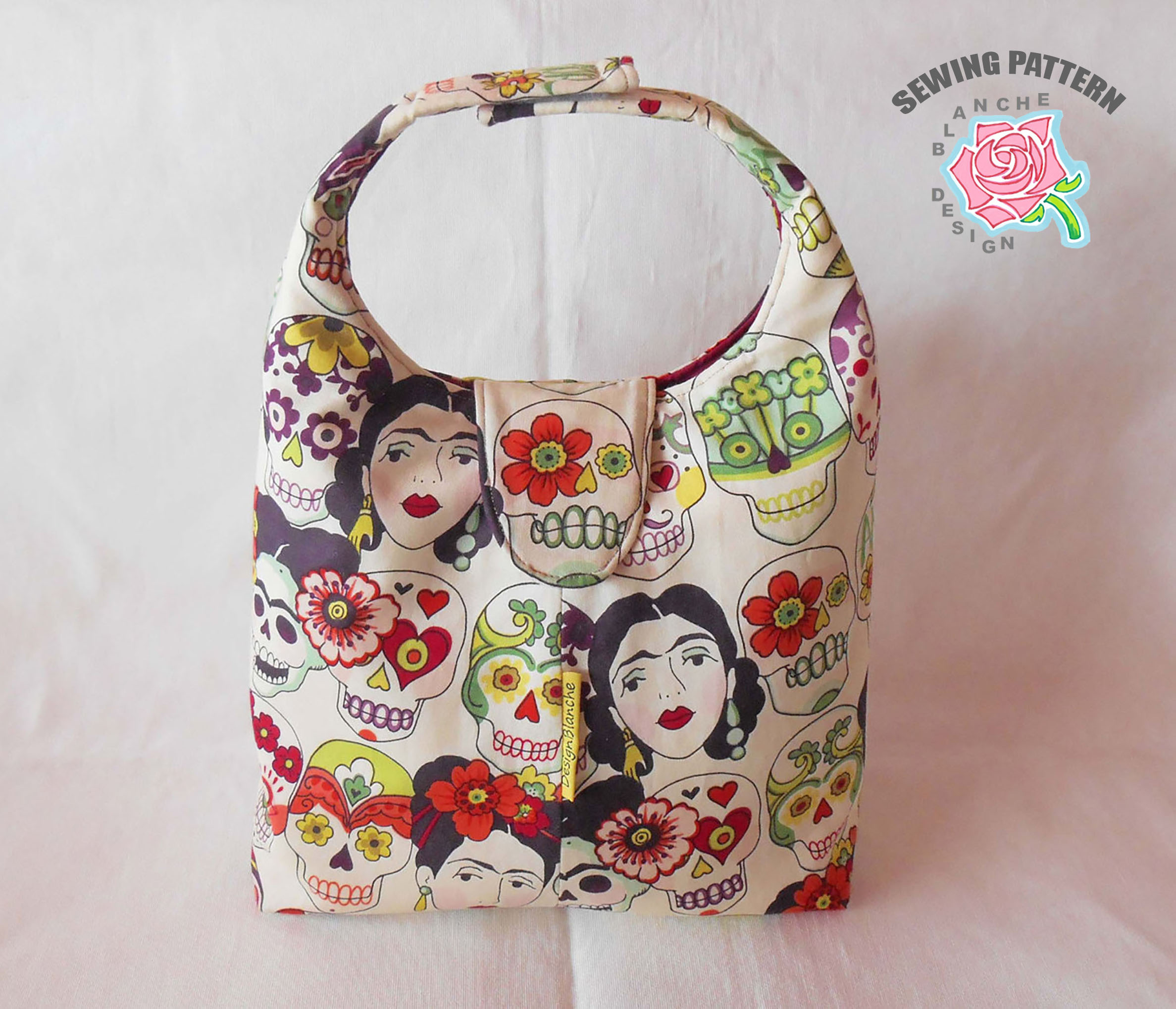 Velcro Insulated Lunch Bag Pattern in Two Sizes