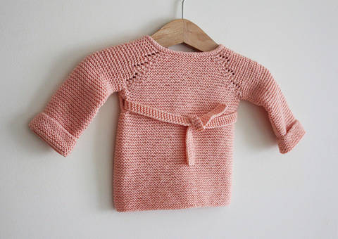 Madeline - Brassière tricot bébé du Préma au 24 mois