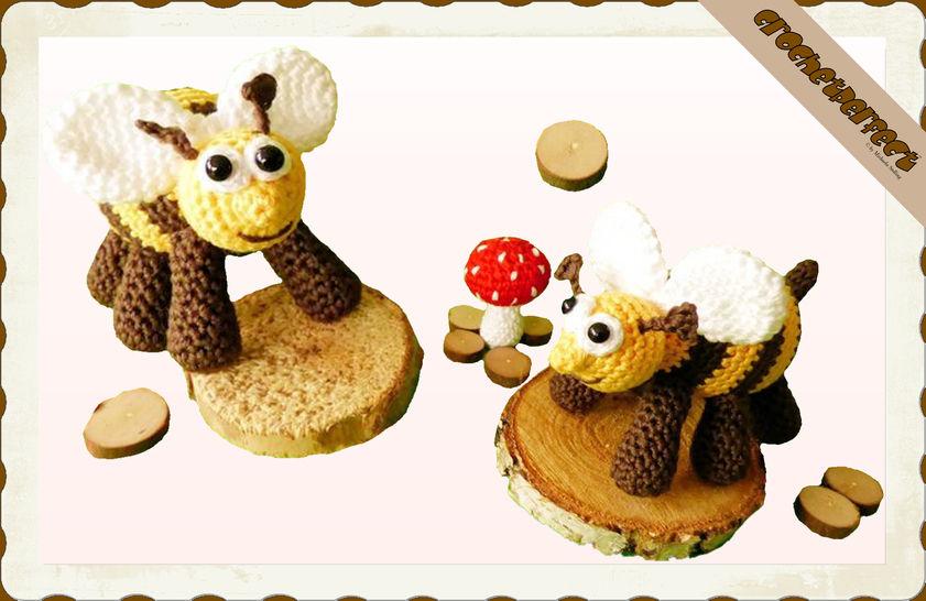 Häkelanleitung (019): Bienchen bei Makerist - Bild 1