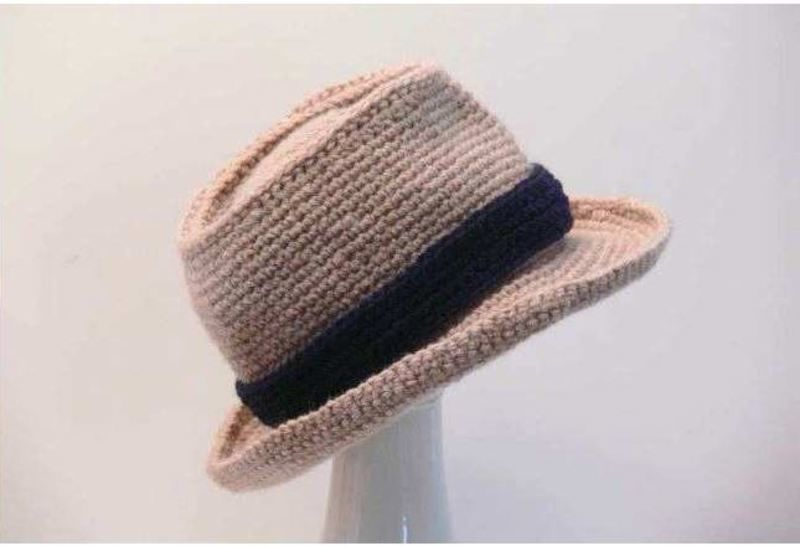 Crochet Pattern Fedora for Babies to Men's XX Large at Makerist - Image 1