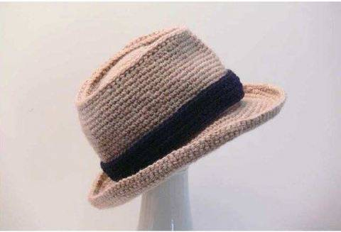 Crochet Pattern Fedora for Babies to Men's XX Large