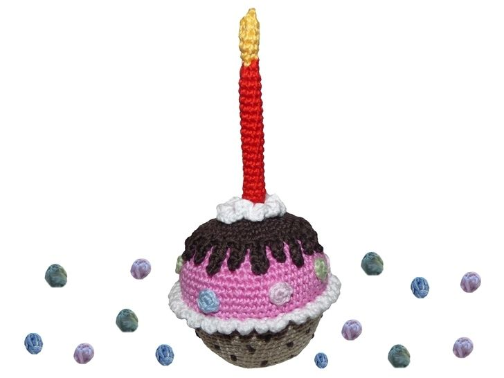Häkelanleitung (028): Geburtstags-Muffin bei Makerist - Bild 1