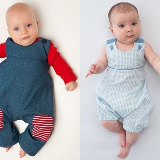 ARTURO + PHIL Jumpsuit set of patterns with bows or buttons at Makerist - Image 1