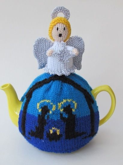 Holy night nativity tea cosy at Makerist - Image 1
