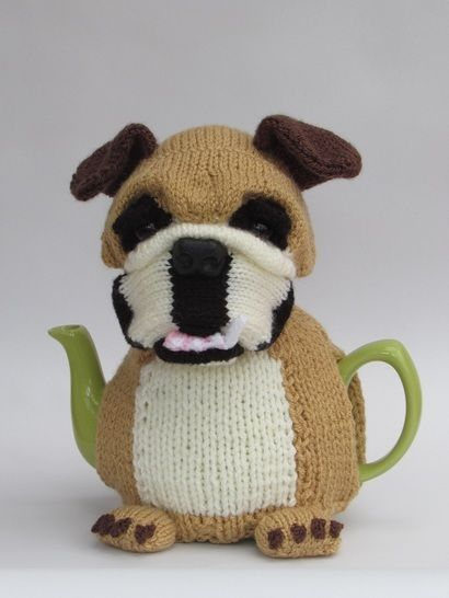 British Bulldog tea cosy at Makerist - Image 1