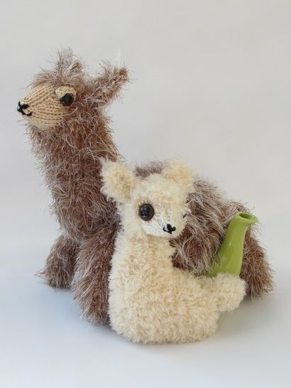 Alpaca and baby tea cosy at Makerist - Image 1