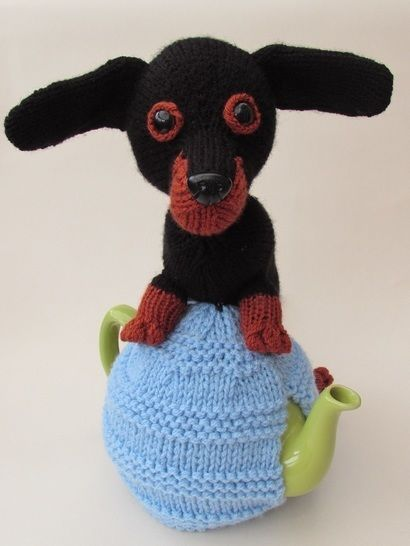 Dachshund tea cosy at Makerist - Image 1