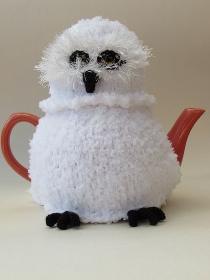Snowy owl tea cosy at Makerist - Image 1