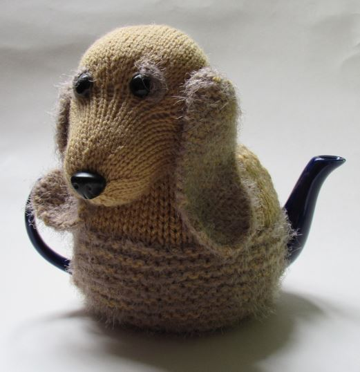English cocker spaniel tea cosy