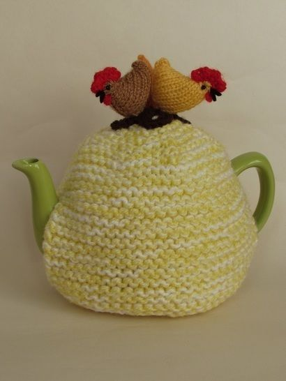 Country chickens tea cosy at Makerist - Image 1