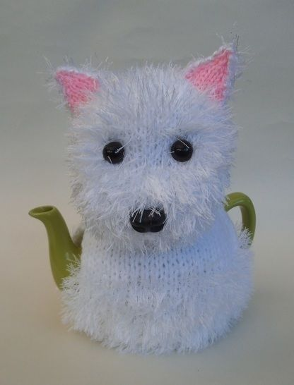 West highland terrier (Westie) tea cosy at Makerist - Image 1