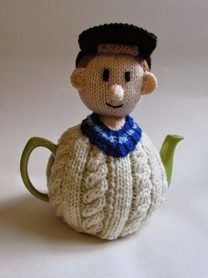 Cricketer tea cosy at Makerist - Image 1