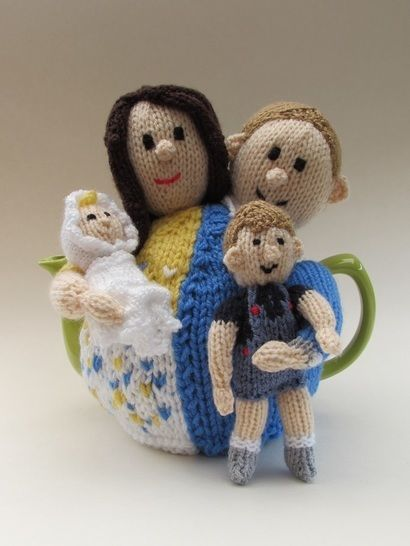 Will and Kate tea cosy at Makerist - Image 1