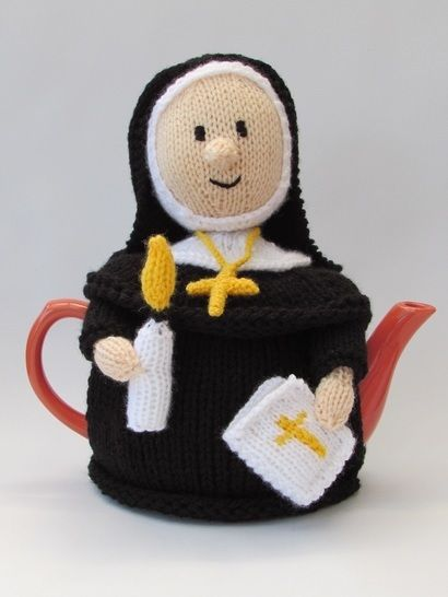 Catholic Nun tea cosy at Makerist - Image 1