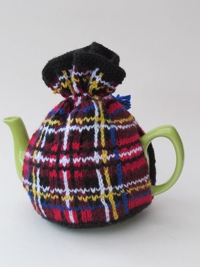 Steward tartan tea cosy at Makerist - Image 1