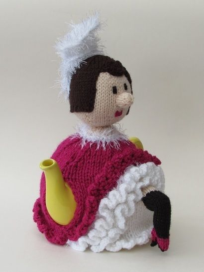 French can-can girl tea cosy at Makerist - Image 1
