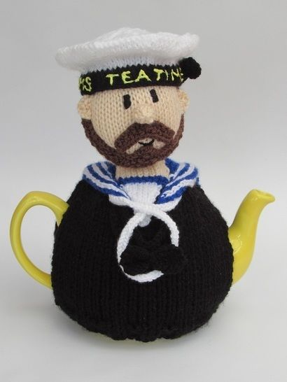 Royal Navy sailor tea cosy at Makerist - Image 1