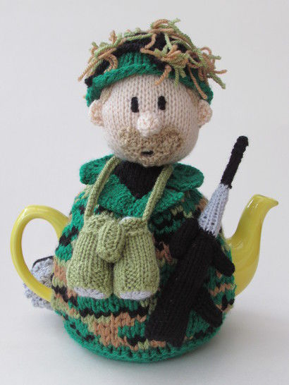 Soldier tea cosy at Makerist - Image 1