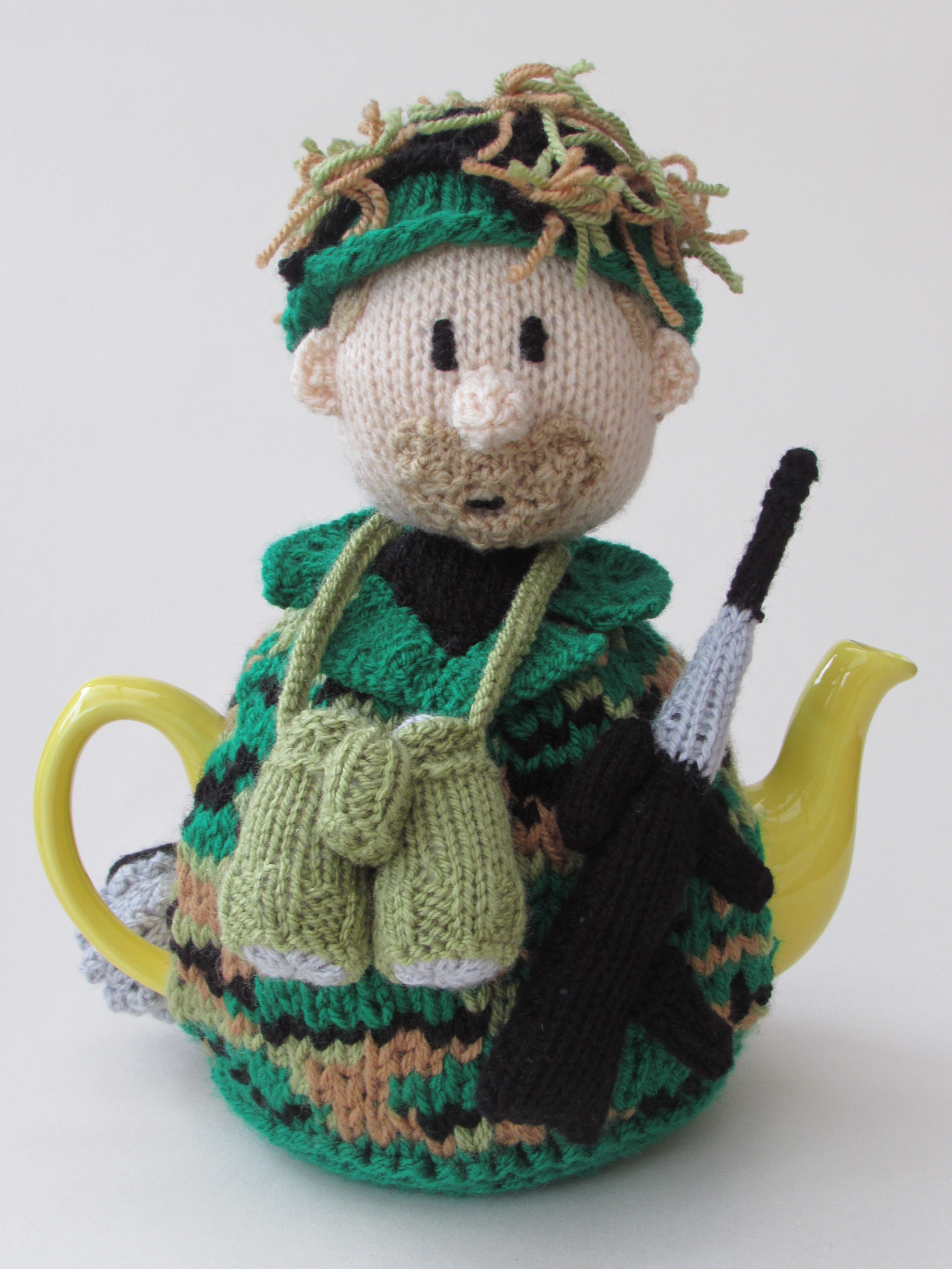 Soldier tea cosy