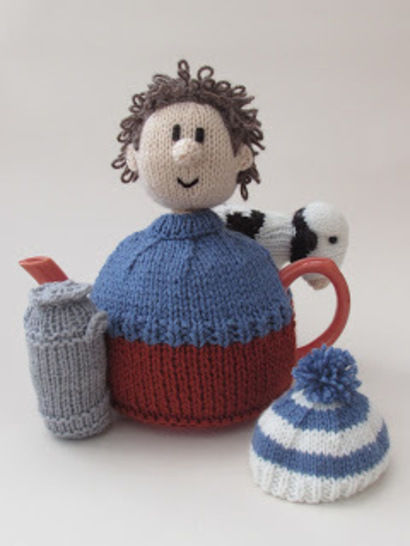 Diary farmer tea cosy at Makerist - Image 1