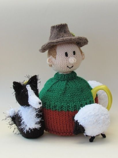 Sheep farmer tea cosy at Makerist - Image 1