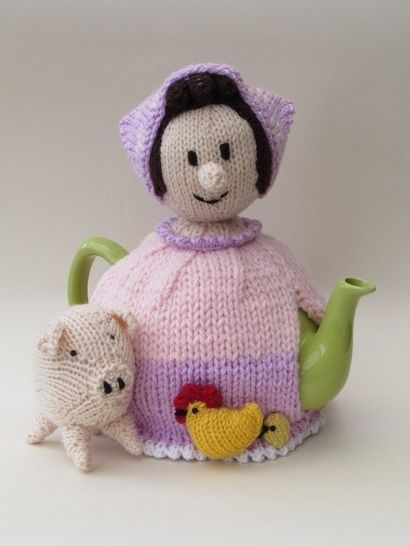 Farmer's wife tea cosy at Makerist - Image 1