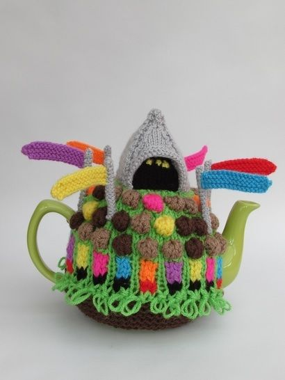 Glostonbury festival tea cosy at Makerist - Image 1