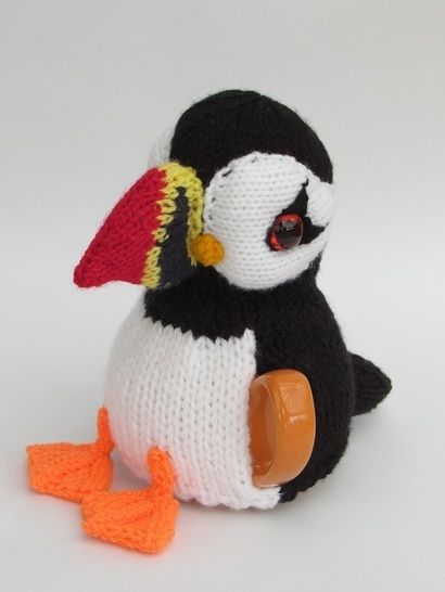 Pint sized Puffin tea cosy at Makerist - Image 1