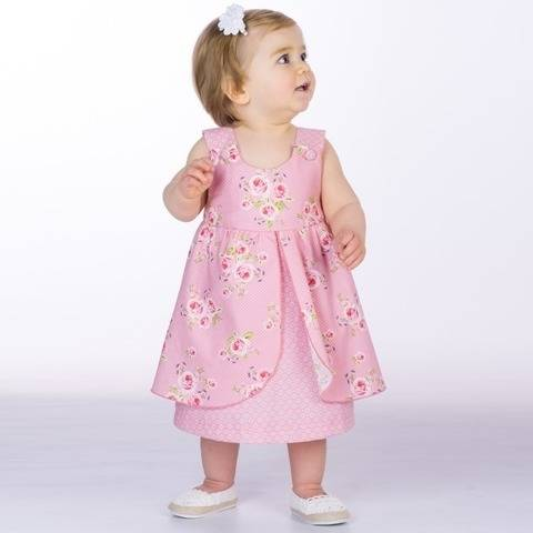 ROSA Baby pinafore dress