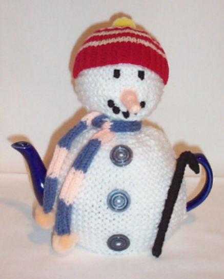 Snowman tea cosy at Makerist - Image 1