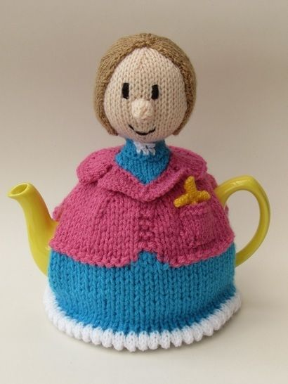 Lady vicar tea cosy at Makerist - Image 1