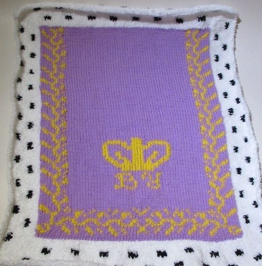 Baby's royal pram blanket at Makerist - Image 1