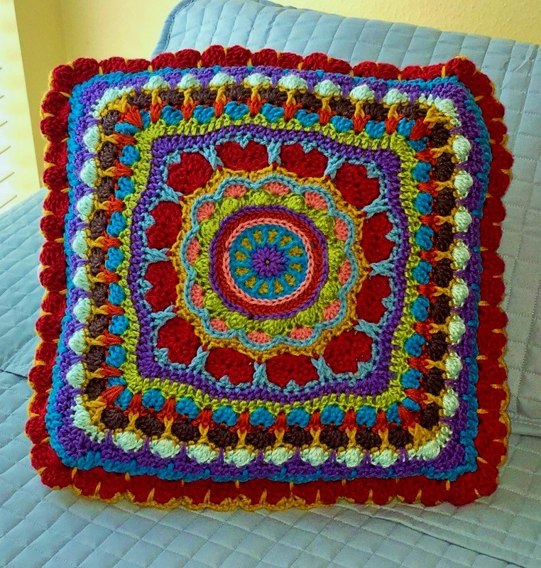 Mandala Love Pillow