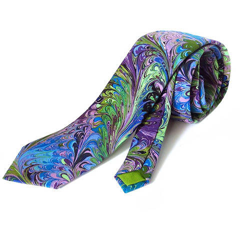 men's four fold necktie - sewing pattern
