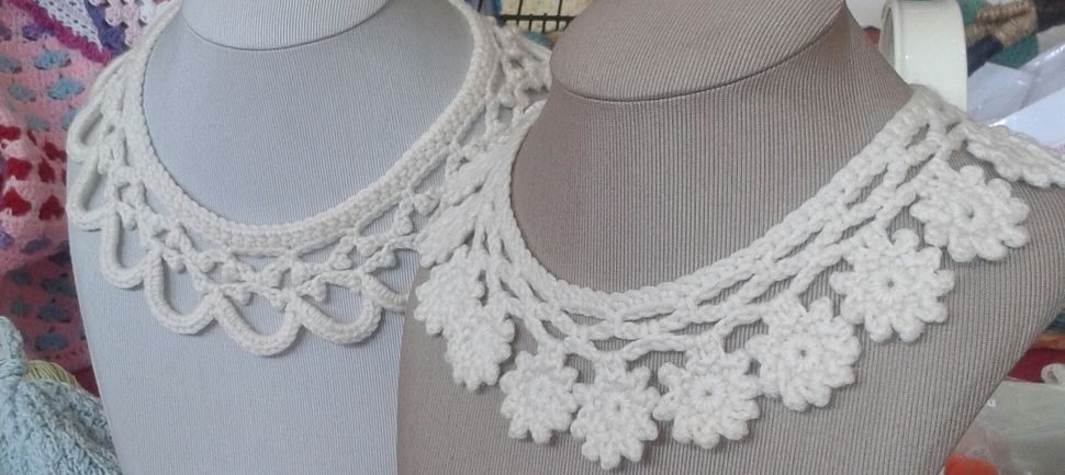 Crochet Collars at Makerist - Image 1